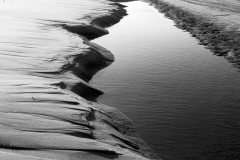sand forms - water