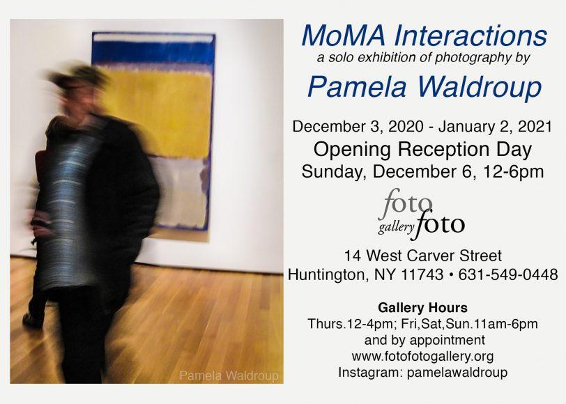 Pamela_Waldroup MoMA Interactions Announcement solo show Dec 2020