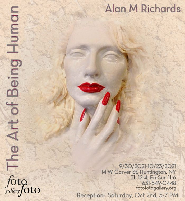 Richards Alan_The Art of Being Human_ –Oct 2021–Solo show announcement