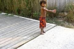 Beach Boy Orange Pants